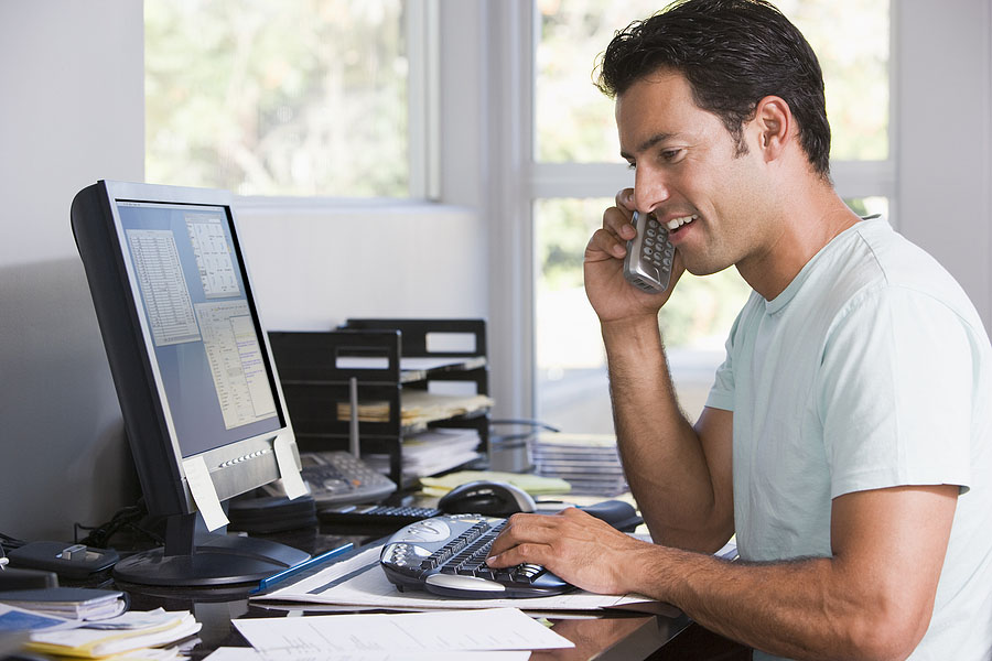 Three Ways a New Home Office Will Boost Your Business - home remodeling contractor - Mares & Dow